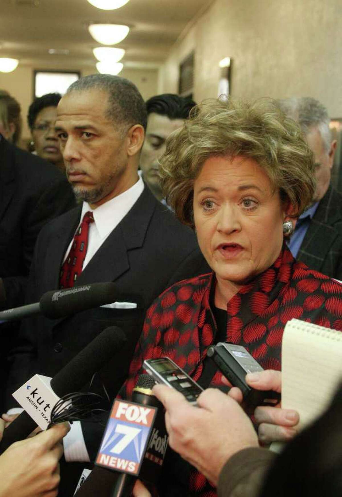 Travis County District Attorney Rosemary Lehmberg says she's satisfied with the sentence even though it doesn't require DeLay to go to the penitentiary immediately.