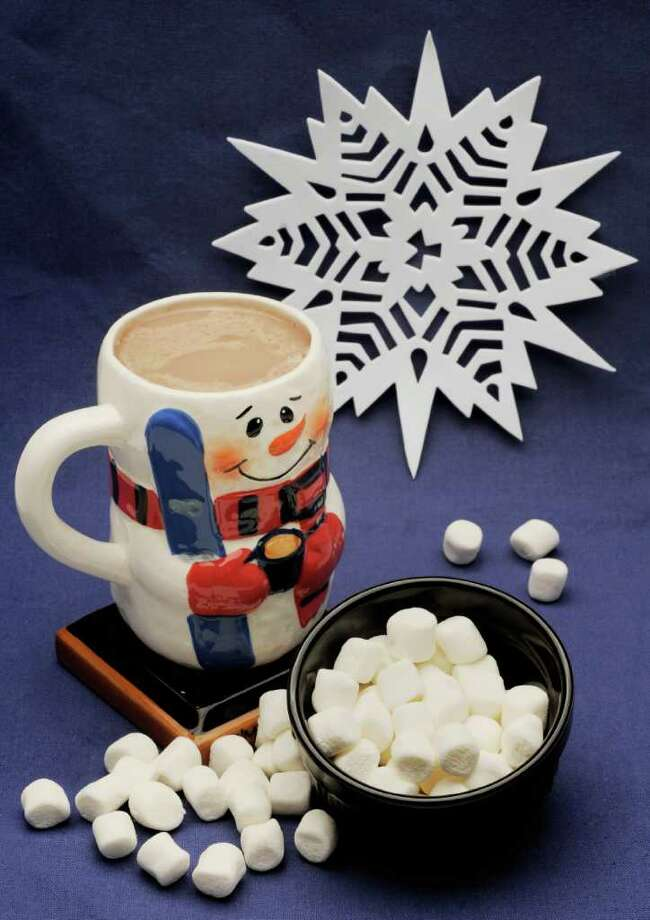 Settle in for the evening and watch the snow fall while sipping on some homemade hot chocolate. Click here for the recipe. Photo: Luanne M. Ferris