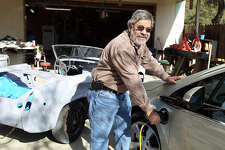 Don Heihn is the first Chevy Volt owner in San Antonio. By JENNIFER WHITNEY/ special to the Express-News