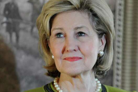 U.S. Senator Kay Bailey Hutchison, Republican Texas gubernatorial candidate speaks at a press conference Tuesday, Jan. 12, 2010 in Houston. Photo: AP