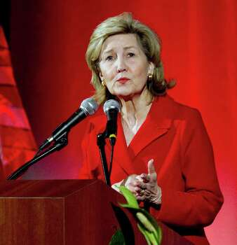 Sen. Kay Bailey Hutchison, R-Texas, speaks at the 2010 Lincoln-Reagan Day Dinner hosted by the Harris County Republican Party Wednesday Feb. 24, 2010 in Houston. Photo: AP