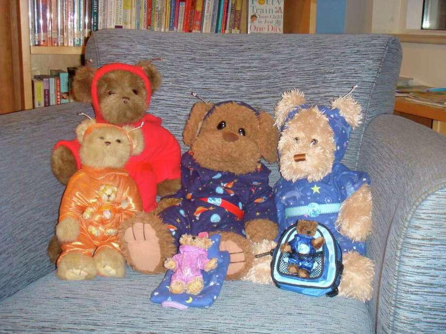 The Cosmic Cubs website includes a line of limited edition plush bears. Photo: Mike Lauterborn, Contributed Photo / Fairfield Citizen contributed