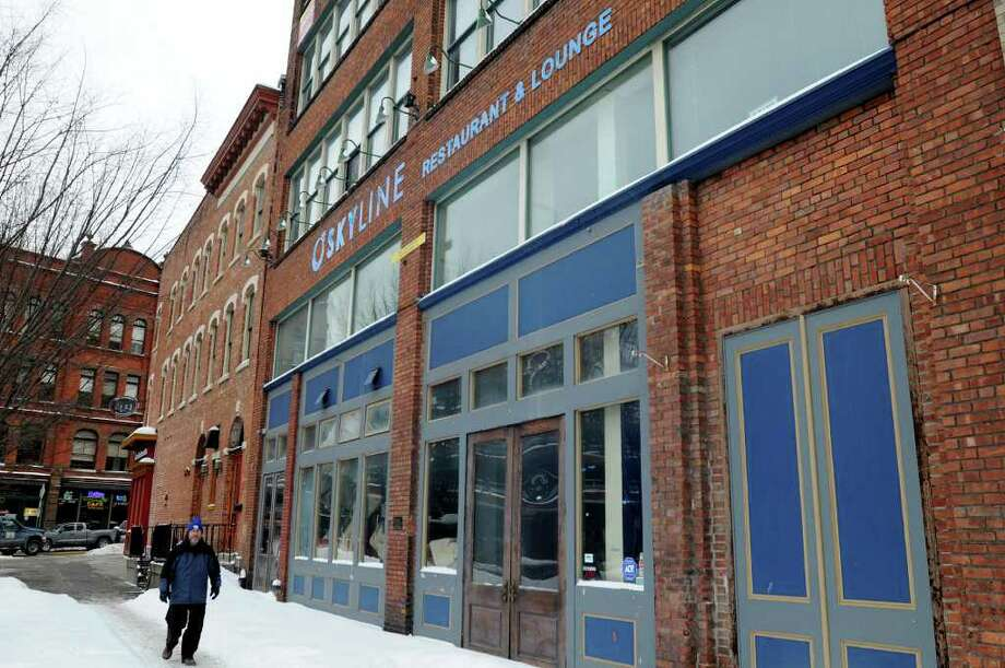 The former Skyline building at 4-6 Sheridan Ave. is being converted to apartments on Thursday, Jan. 13, 2011, in Albany, N.Y. (Cindy Schultz / Times Union) Photo: Cindy Schultz