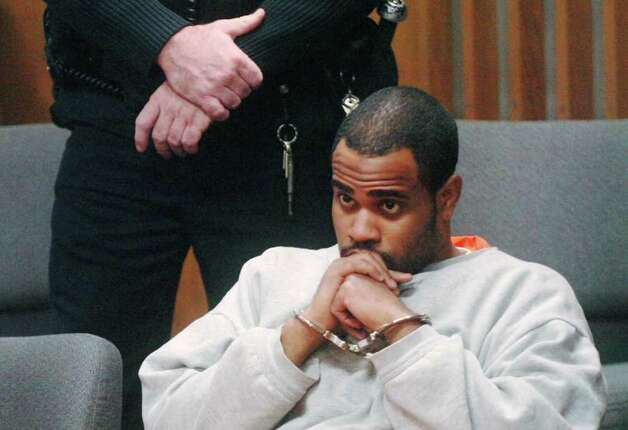 Alain LeConte, 22, of Greenwich, listens during his arraignment proceedings at the Norwalk Superior Court Dec. 16, 2010, in Norwalk. LeConte is facing felony murder and first-degree robbery charges for the Oct. 10, 2009, incident at the Miracle Shell Station on West Avenue in Norwalk in which gas station clerk Jose Joaquin Morales was killed. Photo: Contributed Photo / Greenwich Time Contributed