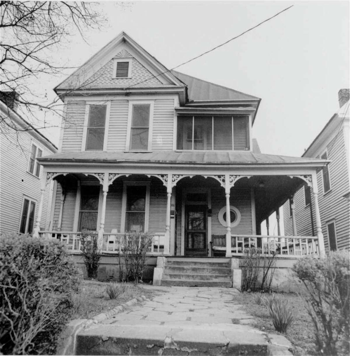 An undated picture of Dr. Martin Luther King, Jr.'s birthplace, 501 Auburn Avenue N.E., Atlanta, Ga. Dr. King was born here, January 15, 1929. (AP Photo)