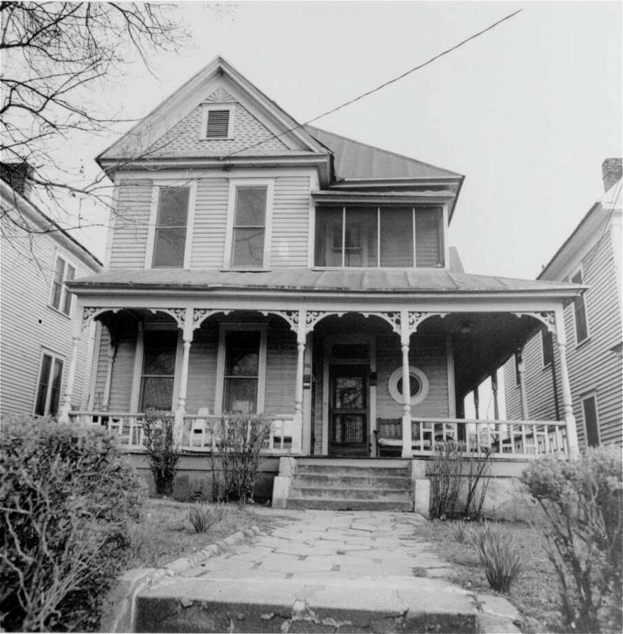 An undated picture of Dr. Martin Luther King, Jr.'s birthplace, 501 Auburn Avenue N.E., Atlanta, Ga.  Dr. King was born here, January 15, 1929.  (AP Photo) / Beaumont