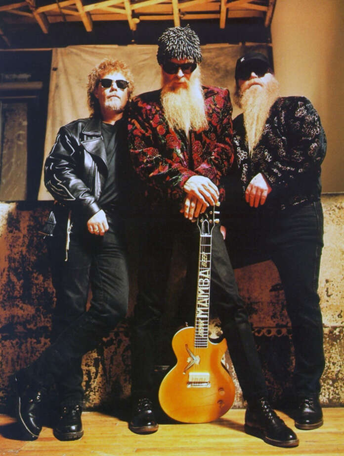 Blues rock band ZZ Top -- Frank Beard (from left), Billy Gibbons and Dusty Hill -- will receive a Texas Medal of Arts award March 1 in Austin. Photo: Courtesy
