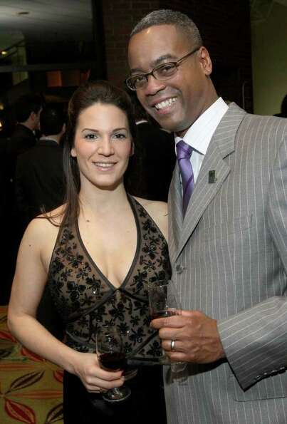 Cindy and Marcus Pryor (Photo by Joe Putrock / Special to the Times Union)