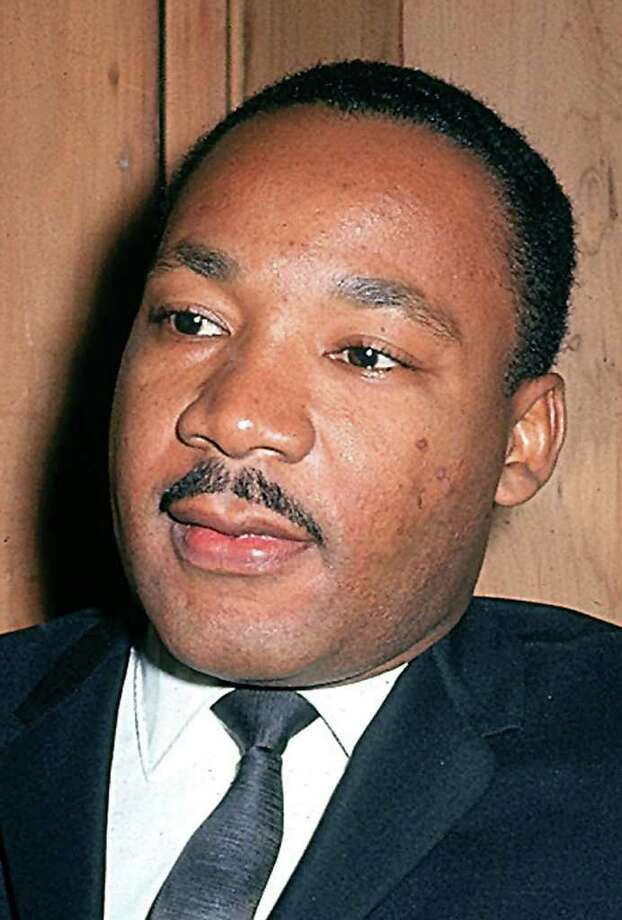 Dr. Martin Luther King Jr. is seen at a press conference in 1966. (AP Photo) Photo: AP / AP