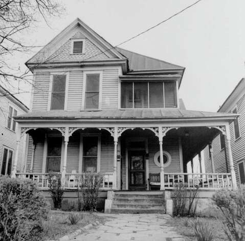 An undated file photograph of Dr. Martin Luther King, Jr.'s birthplace is shown at 501 Auburn Avenue N.E. in Atlanta, Ga. Dr. King was born here on January 15, 1929. Photo: Express-news, AP / AP