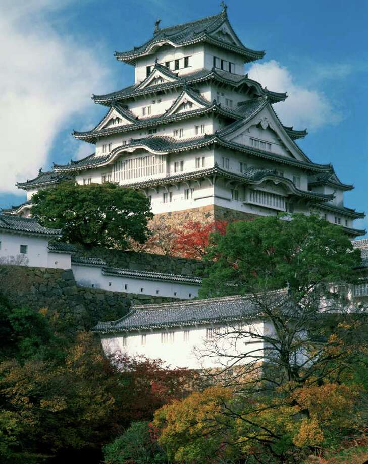 """The Institute of Texan Cultures exhibit """"Two Thousand Years of Legaciesî includes 60 photos, including images of Himeji-jo Castle. Courtesy of Kazuyoshi Miyoshi, Pacific Press Service"""
