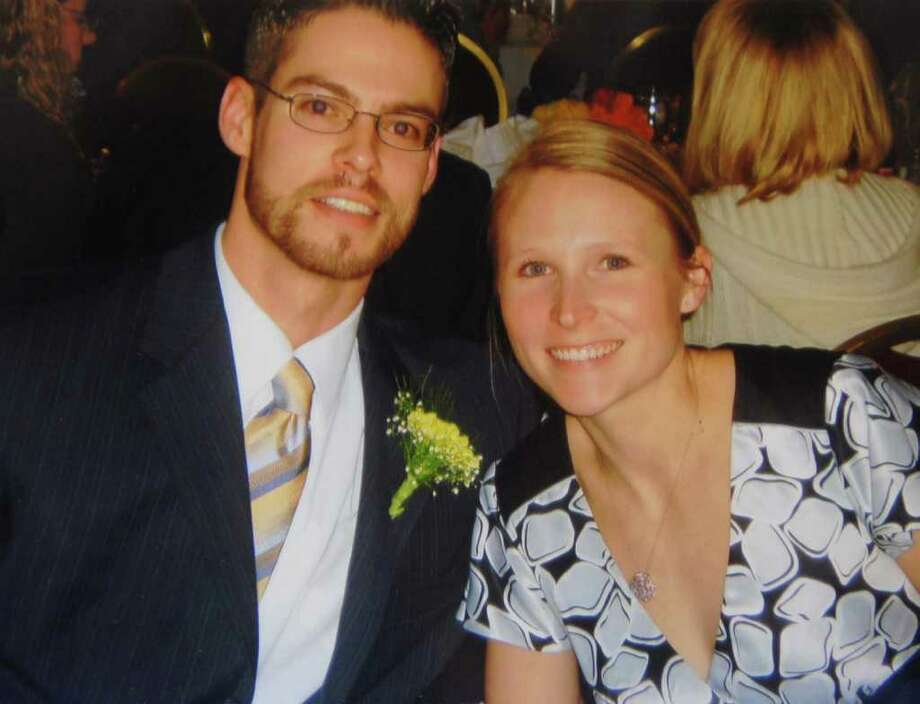 David Park and his wife, Deanna Ripstein. Park was a fifth-grade teacher at Arbor Hill Elementary School.  Park was shot to death after he entered a stranger's home in a Buffalo suburb in the early morning hours of March 28, 2010.  (Courtesy Albany School District) Photo: PAUL BUCKOWSKI