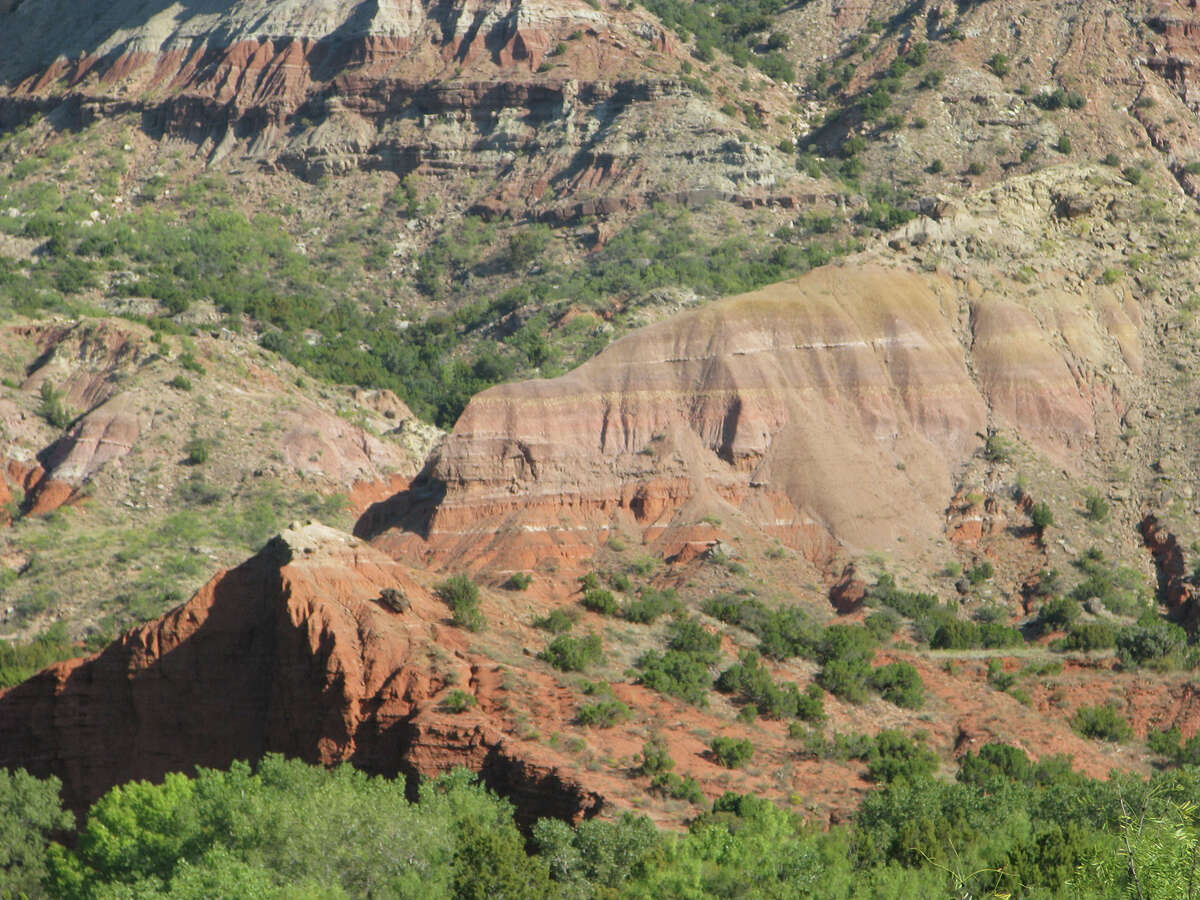 A view looking into Palo Duro Canyon. KATHLEEN SCOTT / SPECIAL TO THE EXPRESS-NEWS