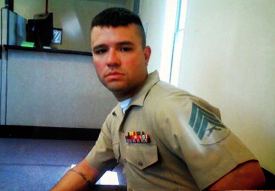 Sgt. Wesley Rice joined the Marines shortly after high school. He served in Iraq in 2006. Photo: Courtesy Photo