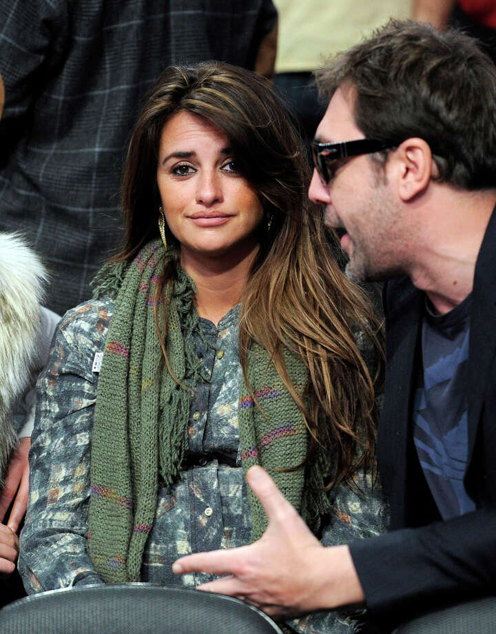 Penelope Cruz was expecting her first child in January 2011.