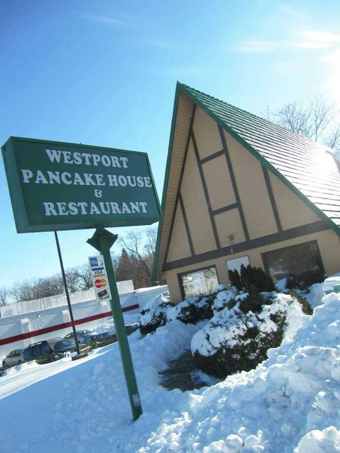 An exterior shot of the Westport Pancake House & Restaurant, which is under new ownership. Susan and Ray Vera now run the eatery. Susan worked there for approximately 17 years before taking over the reigns last month. Photo: Kirk Lang;Eliot Schickler, Kirk Lang / Westport News