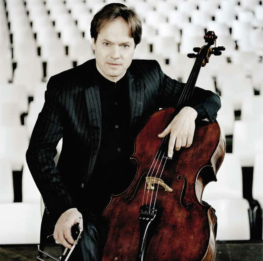Cellist Jan Vogler will be the featured soloist when the Stamford Symphony Orchestra presents its concert  'Romantic Souls,' Jan. 29 and 30, at the Palace Theatre in Stamford. Vogler, an accomplished musician, has played on stages the world over, including those in his native Germany. Contributed photo/Mat Hennek Photo: Contributed Photo / Stamford Advocate Contributed