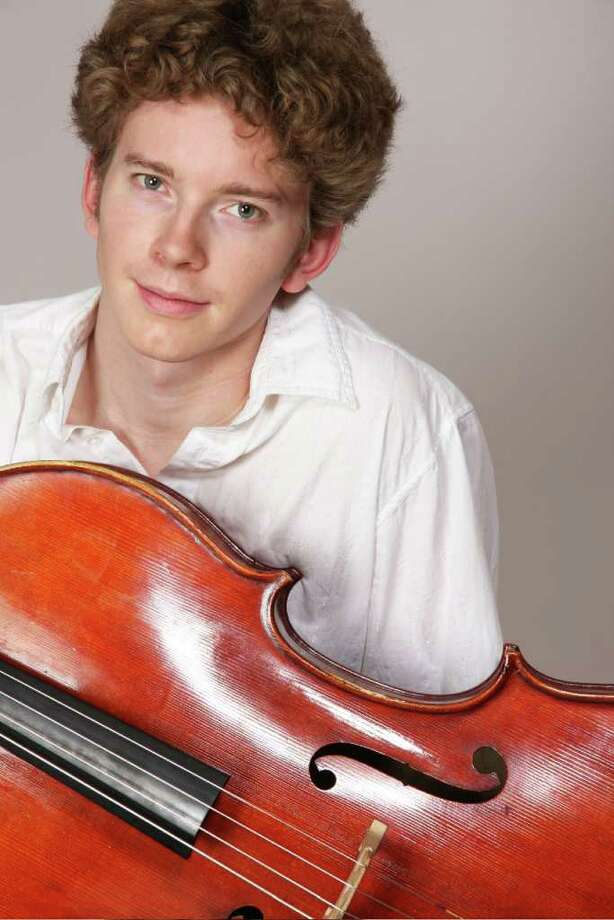 Cellist Joshua Roman will perform as a soloist with the Greenwich Symphony Orchestra for two concerts, Jan. 29 and 30, at the Greenwich High School auditorium. Roman, who once served as the principal cellist for the Seattle Symphony Orchestra, will be playing Edward Elgar's cello concerto. For more information, visit www.greenwichsym.org. Contributed photo/Tina Su Photo: Contributed Photo / Stamford Advocate Contributed