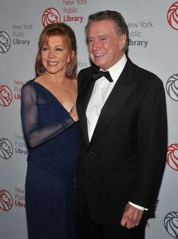 NEW YORK - NOVEMBER 01: Joy Philbin and Regis Philbin attend the 2010 Library Lions Benefit at The New York Public Library on November 1, 2010 in New York City. (Photo by Henry S. Dziekan III/Getty Images) *** Local Caption *** Joy Philbin;Regis Philbin Photo: Henry S. Dziekan III, Getty Images / 2010 Getty Images