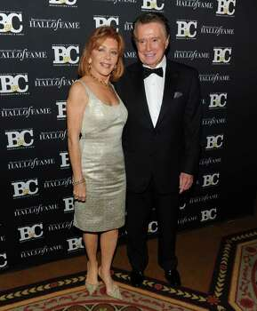 NEW YORK - OCTOBER 27:  Joy Philbin and television personality Regis Philbin attend the 20th Annual Broadcasting and Cable Hall of Fame Awards at The Waldorf Astoria on October 27, 2010 in New York City.  (Photo by Jason Kempin/Getty Images) *** Local Caption *** Joy Philbin;Regis Philbin Photo: Jason Kempin, Getty Images / 2010 Getty Images