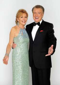 LAS VEGAS - JUNE 27:  Host Regis Philbin and wife Joy Philbin pose for a portrait at the 37th Annual Daytime Entertainment Emmy Awards held at the Las Vegas Hilton on June 27, 2010 in Las Vegas, Nevada.  (Photo by Charley Gallay/Getty Images for ATI) *** Local Caption *** Joy Philbin;Regis Philbin Photo: Charley Gallay, Getty Images For ATI / 2010 Getty Images