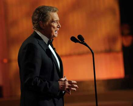 LAS VEGAS - JUNE 27:  Host Regis Philbin speaks onstage at the 37th Annual Daytime Entertainment Emmy Awards held at the Las Vegas Hilton on June 27, 2010 in Las Vegas, Nevada.  (Photo by Kevin Winter/Getty Images for ATI) *** Local Caption *** Regis Philbin Photo: Kevin Winter, Getty Images For ATI / 2010 Getty Images