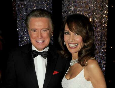 LAS VEGAS - JUNE 27:  Host Regis Philbin and actress Susan Lucci pose backstage at the 37th Annual Daytime Entertainment Emmy Awards held at the Las Vegas Hilton on June 27, 2010 in Las Vegas, Nevada.  (Photo by Kevin Winter/Getty Images for ATI) *** Local Caption *** Regis Philbin;Susan Lucci Photo: Kevin Winter, Getty Images For ATI / 2010 Getty Images