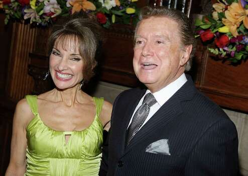 NEW YORK - JANUARY 28:  Actress Susan Lucci and TV Personality Regis Philbin attend The AFTRA Media and Entertainment Excellence Aards on Januray 28, 2008 in New York City.  (Photo by Stephen Lovekin/Getty Images) Photo: Stephen Lovekin, Getty Images / 2008 Getty Images