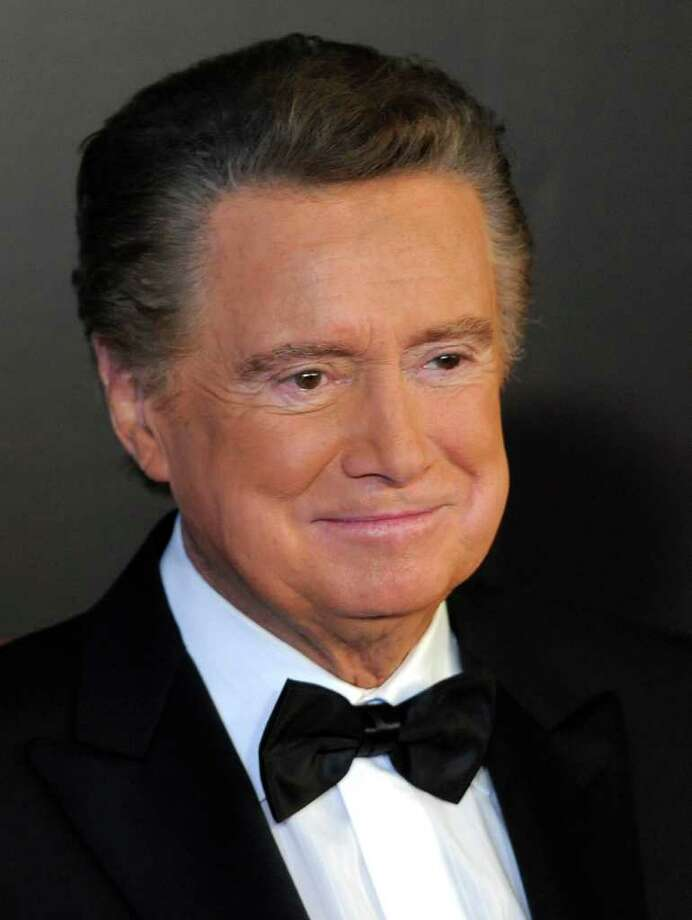 "FILE - In this June 27, 2010 photo, host Regis Philbin arrives at the 37th Annual Daytime Emmy Awards, in Las Vegas. Veteran broadcaster Philbin says he's retiring from his weekday talk show. Philbin made the announcement at the start of the morning show ""Live With Regis and Kelly,"" Tuesday, Jan. 18, 2011, which he has hosted for more than a quarter-century, most recently sharing hosting duties with Kelly Ripa. (AP Photo/Chris Pizzello, File) Photo: Chris Pizzello, STF"