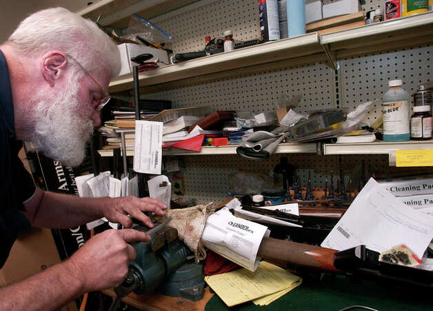 Gary Dean, the Master Gunsmith at the Gander Mountain
