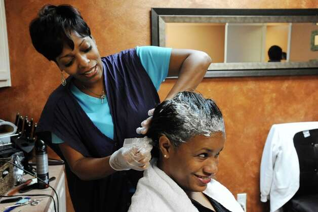 African American Hair Salons : Genesis Beauty Salon in Beaumont where beauty begins.Photo: VALENTINO ...