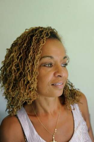 Paula Taft wears her hair natural in a style known as