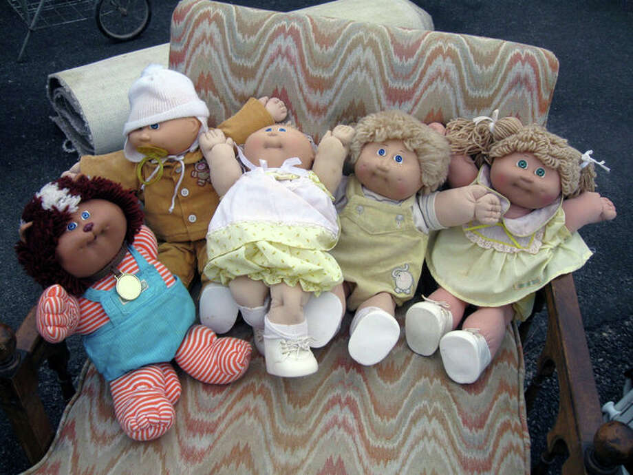 Cabbage Patch dolls Photo: Teresa Mioli