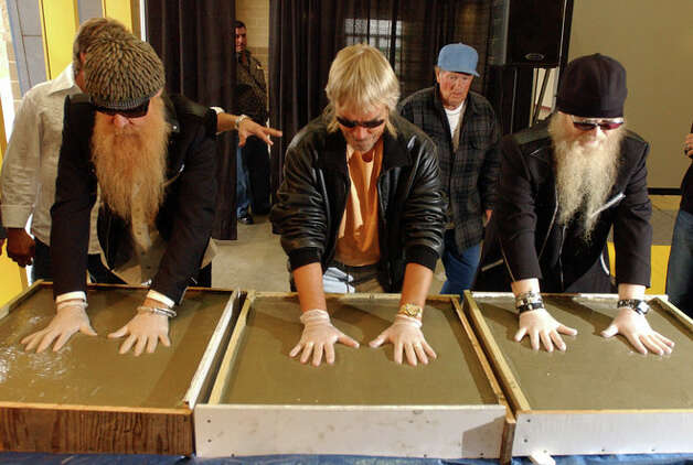 Zz Top S Dusty Hill Frank Beard And Billy Gibbons