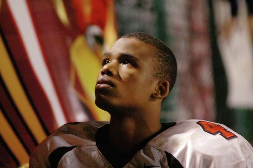 Wildcats receiver, Josh Hughey, looks to the stands for his family in the final minutes against the