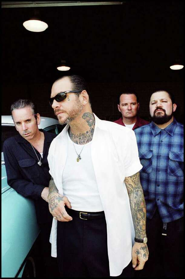 "Social Distortion's new CD is ""Hard Times and Nursery Rhymes."""