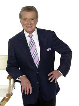 "In this undated image released by Disney, Regis Philbin, co-host of ""Live with Regis and Kelly,"" is shown. Forever young at 76, Regis Philbin carries on two decades after hitting it big with his morning show. He's also got a brand-new prime-time venture, ""Million Dollar Password"". And next month he gets the Life Achievement Award at the Daytime Emmys ceremony.   (AP Photo/Disney) ** NO SALES ** Photo: Anonymous, HO / AP2007"