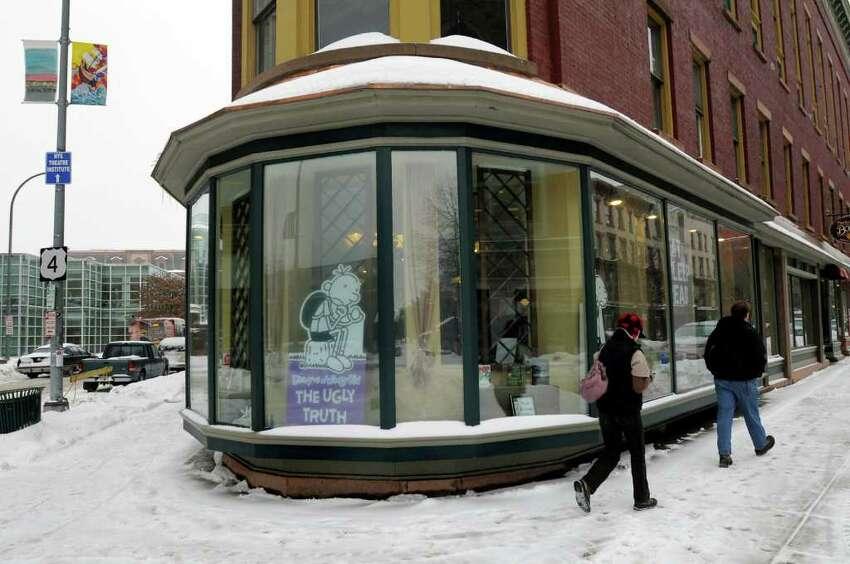 Market Block Books on Tuesday, Jan. 18, 2011, in Troy, N.Y. (Cindy Schultz / Times Union)