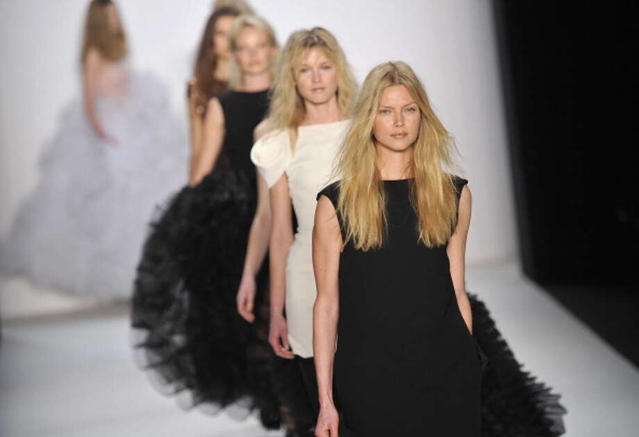 BERLIN, GERMANY - JANUARY 19:  Models walk the runway at the Le Ver Couture Show during the Mercedes Benz Fashion Week Autumn/Winter 2011 at Bebelplatz on January 19, 2011 in Berlin, Germany.  (Photo by Gareth Cattermole/Getty Images) Photo: Gareth Cattermole, Getty Images / 2011 Getty Images