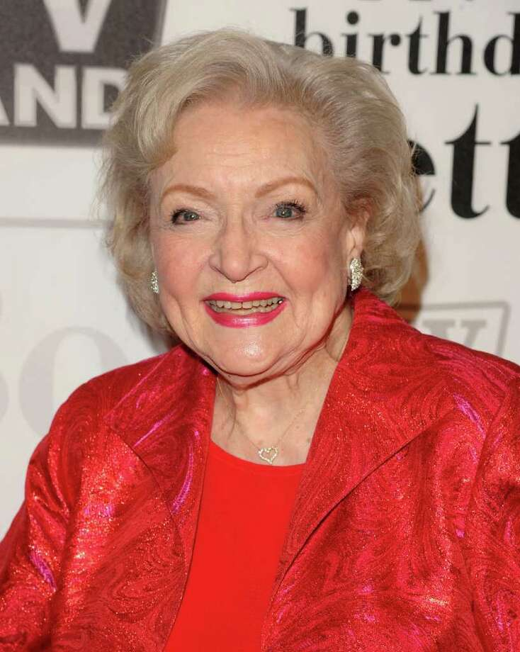 Actress Betty White attends her 89th Birthday celebration hosted by TV Land, in New York, on Tuesday, Jan. 18, 2011. Photo: AP
