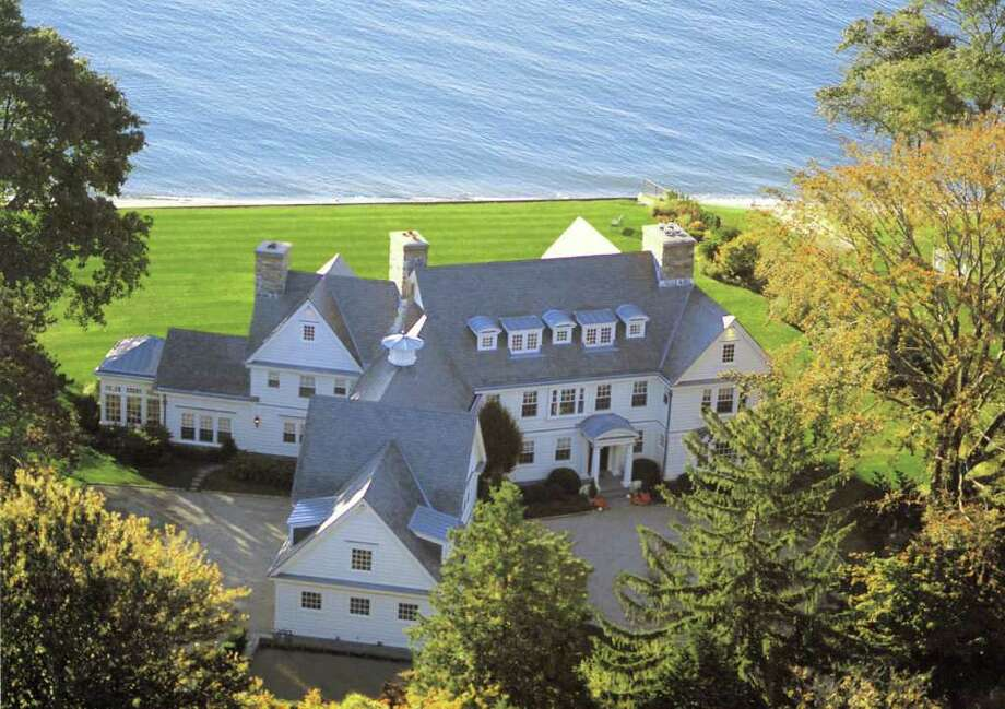The Westport waterfront mansion owned by talk show host Don Imus is on the market for $25 million. Photo: Contributed Photo / Westport News contributed