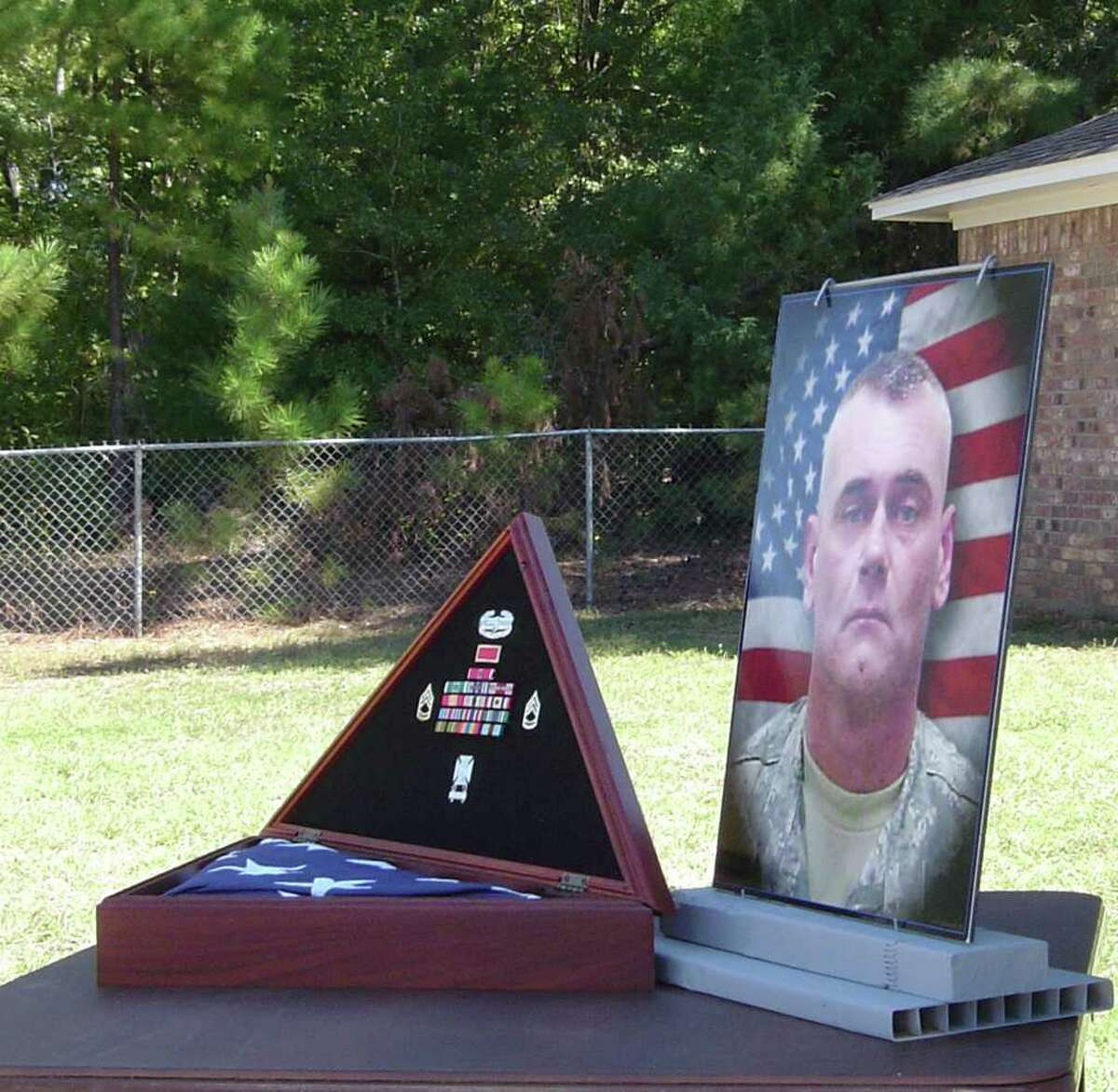Sgt. 1st Class Gregory Giger was one of at least 22 Fort Hood GIs to commit suicide in 2010.