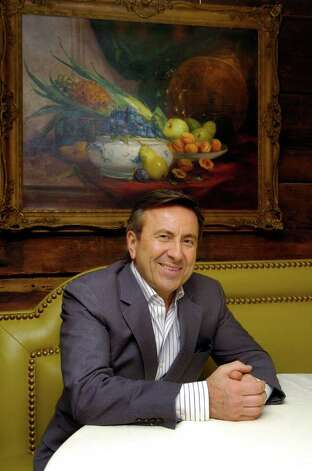 Daniel Boulud, a top chef with restaurants around the world, is this year's honoree for Greenwich Hospital's Great Chefs event, which will take place on march 4, 2011. He is pictured at a press event at Restaurant Thomas Henkelmann in Greenwich, Conn. on Thursday January 20, 2011. Photo: Dru Nadler / Stamford Advocate Freelance