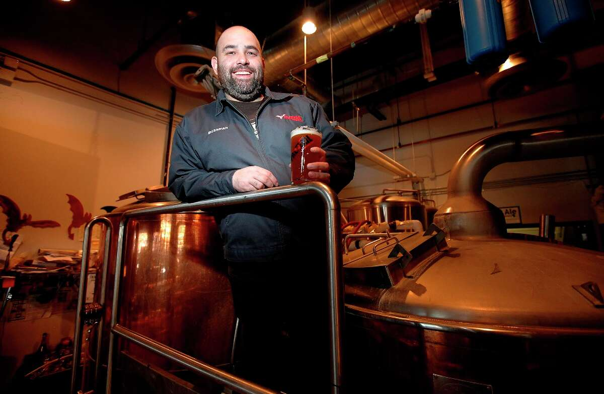 Scott Metzger, founder and CEO of San Antonio's Freetail Brewing Co., is spearheading an effort to change distribution laws in Texas to allow brewpubs like Freetail to distribute their beers throughout Texas. Kin Man Hui/kmhui@express-news.net