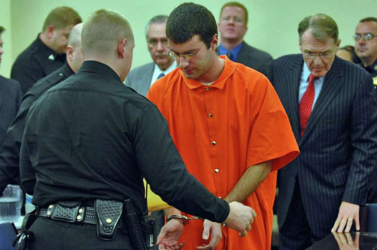 Christopher Porco, 27, is appealing his conviction for murdering his father and attempting to murder his mother. He is serving 46 years to life in state prison. (PHILIP KAMRASS/Times Union Archive)