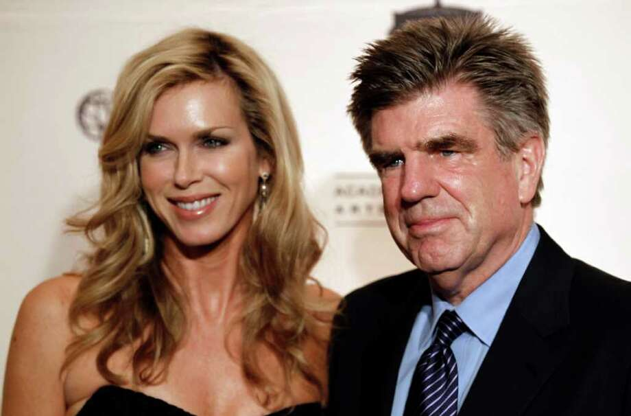 Inductee Tom Freston, right, and his wife, Kathy, arrive at the Academy of Television Arts and Sciences 20th Annual Hall of Fame Induction Gala in Beverly Hills, Calif. on Thursday, Jan. 20, 2011. Photo: AP