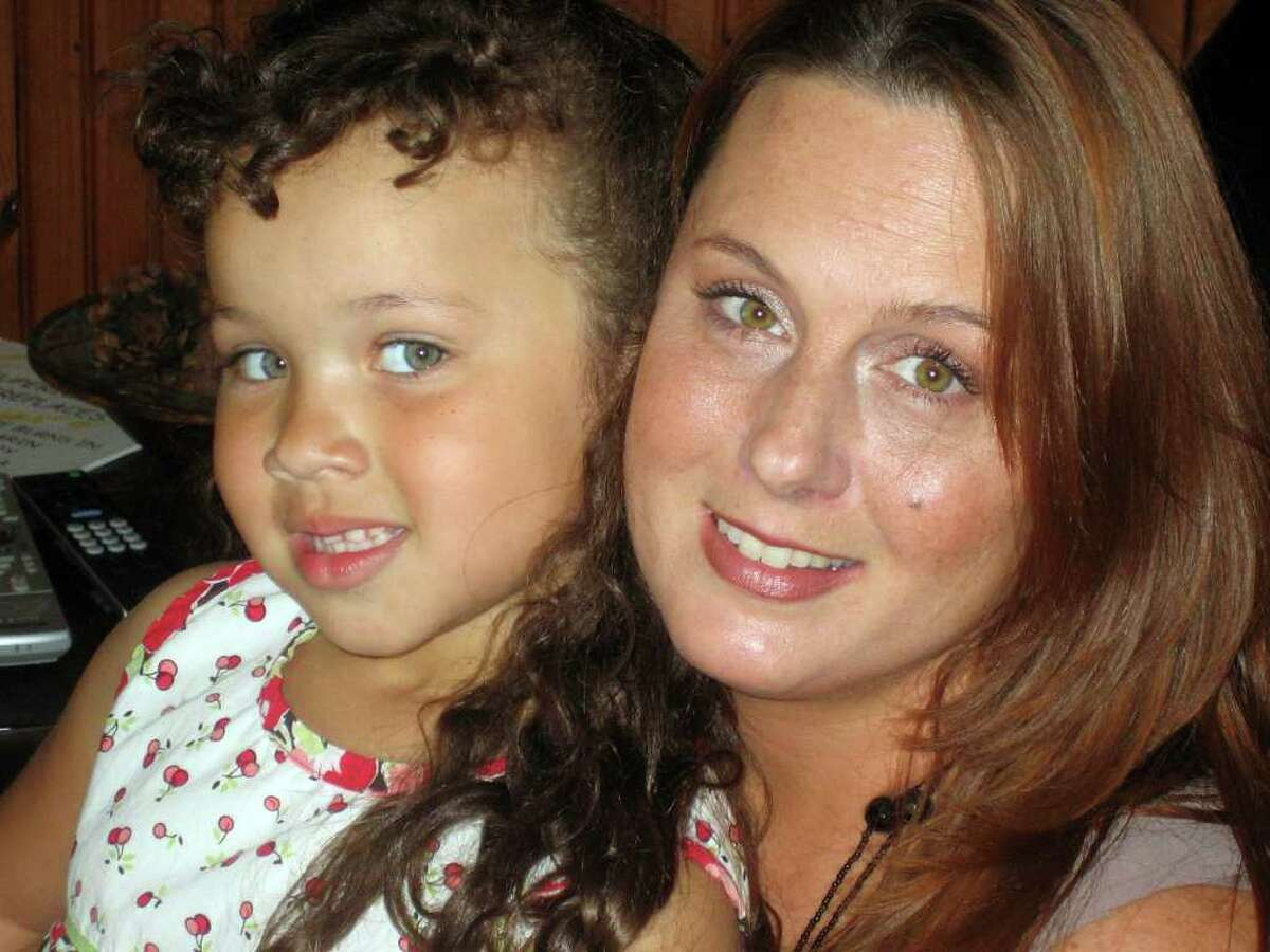 A recent photo of Marin Montgomery, now 5, with her mother Deidre Wooldridge. (Photo by Elise Craig.)