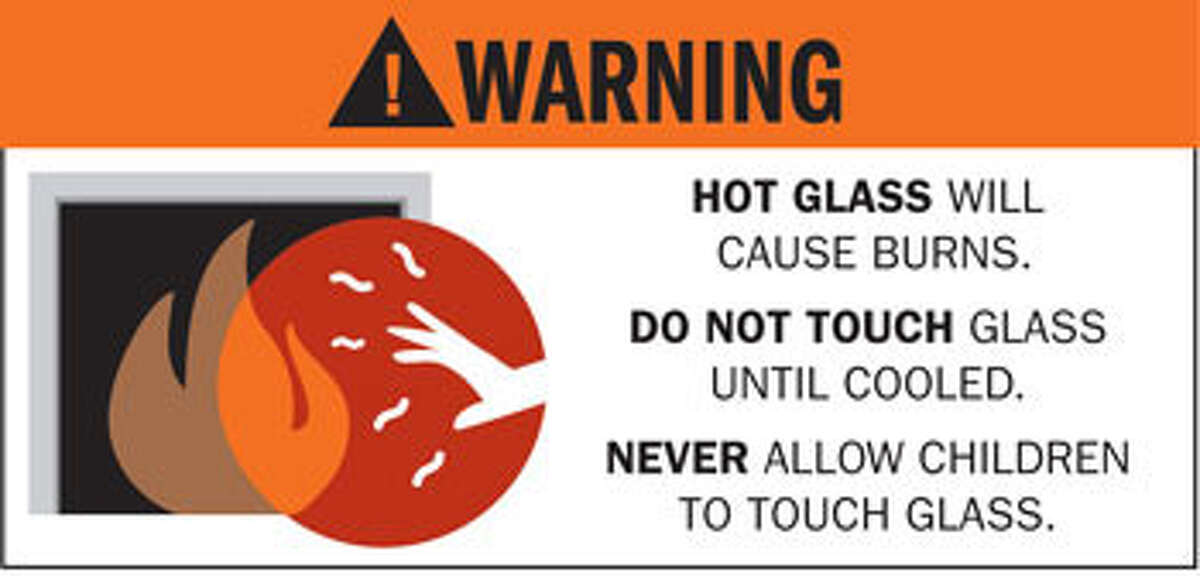 Fireplace makers recently adopted this warning label but it does not appear on fireplaces, so many consumers never see it.