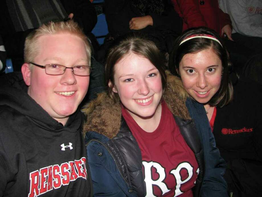 Were you seen at Seen at RPI hockey? Photo: Kristi L. Gustafson