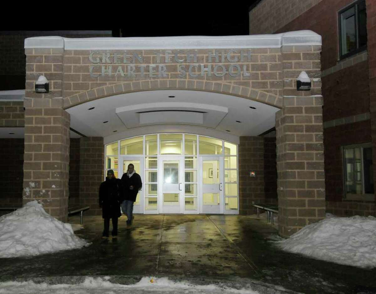 The Green Tech High Charter School in Albany, N.Y., Thursday, Jan. 20, 2011. (Hans Pennink / Special to the Times Union)